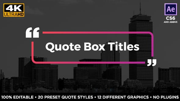 Thumbnail for Quote Box Titles