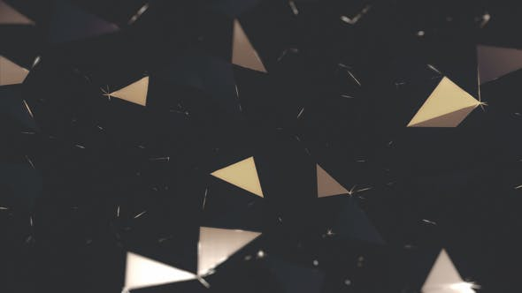 Thumbnail for Glitter Polygon Background