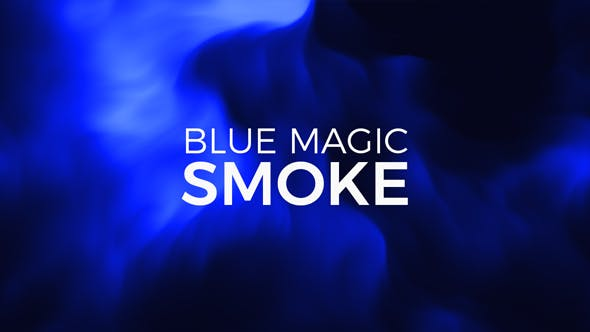 Thumbnail for Blue Magic Smoke Background