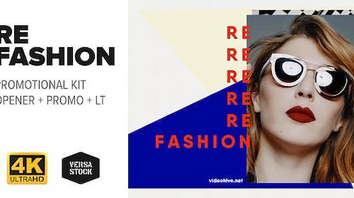 RE Fashion   Promo Kit