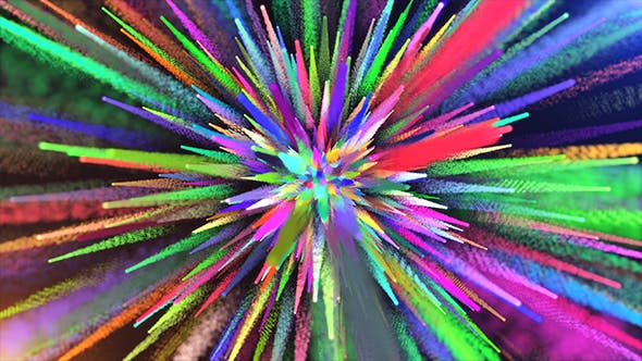 Cover Image for Abstract Colorful Particle Dust
