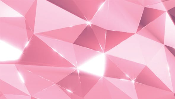 Thumbnail for Colorful Glamour Low Poly Background