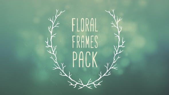 Thumbnail for 6 Floral Frames