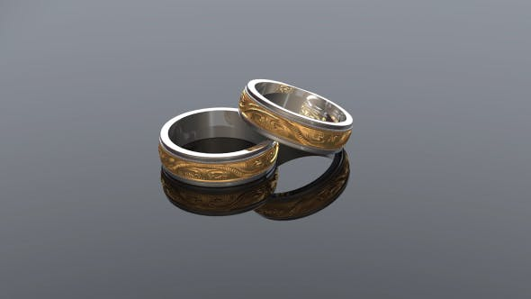 Thumbnail for Wedding Rings Background