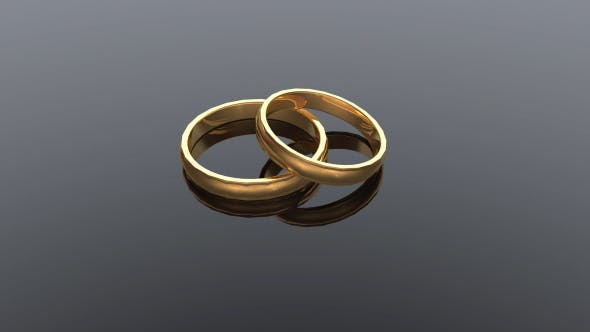 Thumbnail for Classic Wedding Rings Background
