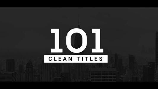 Thumbnail for 101 Clean Titles Pack