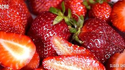 Strawberry Sliding Shot