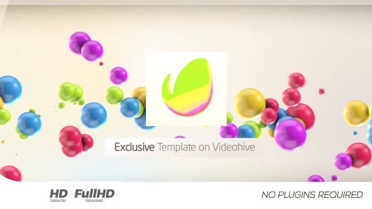 Thumbnail for Colorful 3D Balls // Kids logo