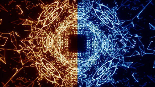 Plexus Abstract Background