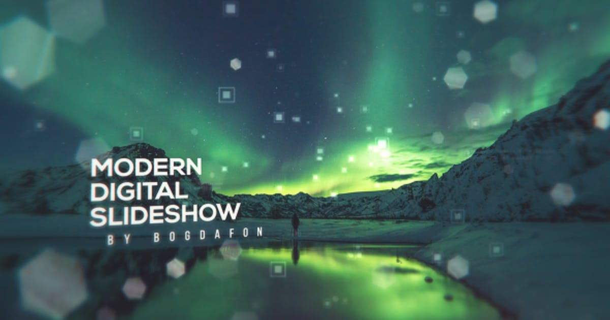 Download Modern Digital Parallax Slideshow   Opener by Bogdafon