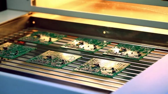 Thumbnail for Surface Mount Technology (Smt) Machine Places Elements on Circuit Boards
