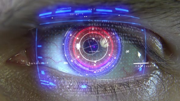 Animation of the Eye with Holograms