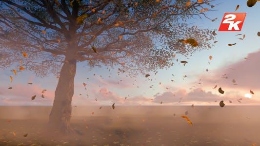 Thumbnail for Leaves falling