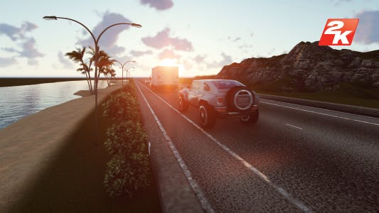 Thumbnail for Sunset Road Traffic