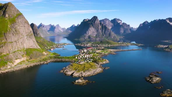 Thumbnail for Beautyful Norwegian landscape