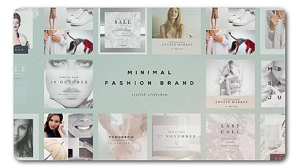 Thumbnail for Fashion Brand Minimal Slideshow
