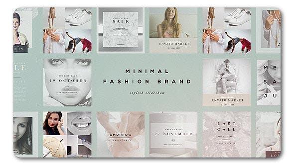 Cover Image for Fashion Brand Minimal Slideshow