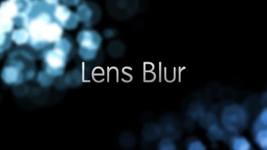 Thumbnail for Lens Blur Intro