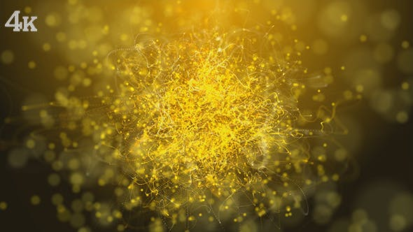Thumbnail for Golden Strings Particles Loop Background
