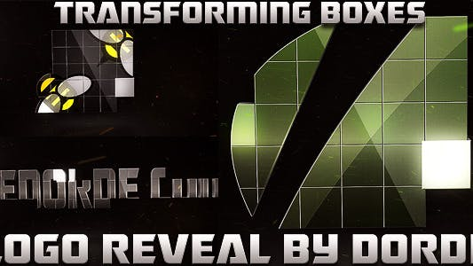 Thumbnail for Cajas transformadoras - Logo Reveal