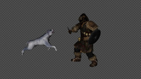 Thumbnail for Dog And Man Attack Packtwo 12 In 1