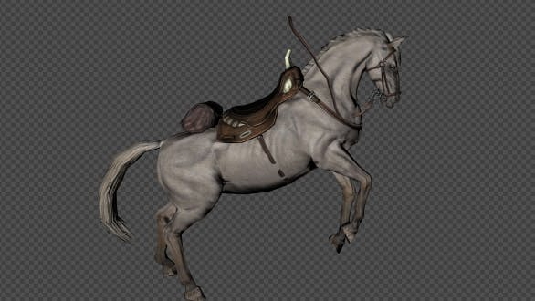 Thumbnail for A Horse With A Saddle Attack And Special Pack 6 In 1