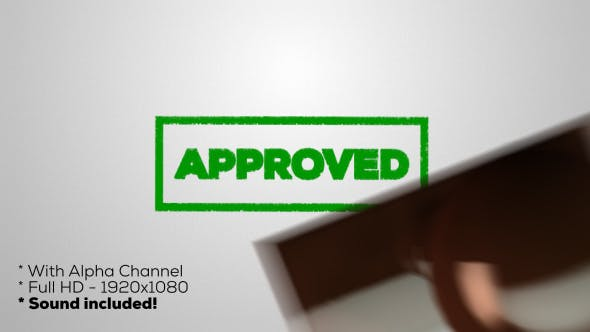 Thumbnail for Approved - Stamp