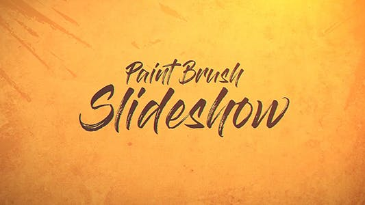 Thumbnail for Paint Brush Slideshow