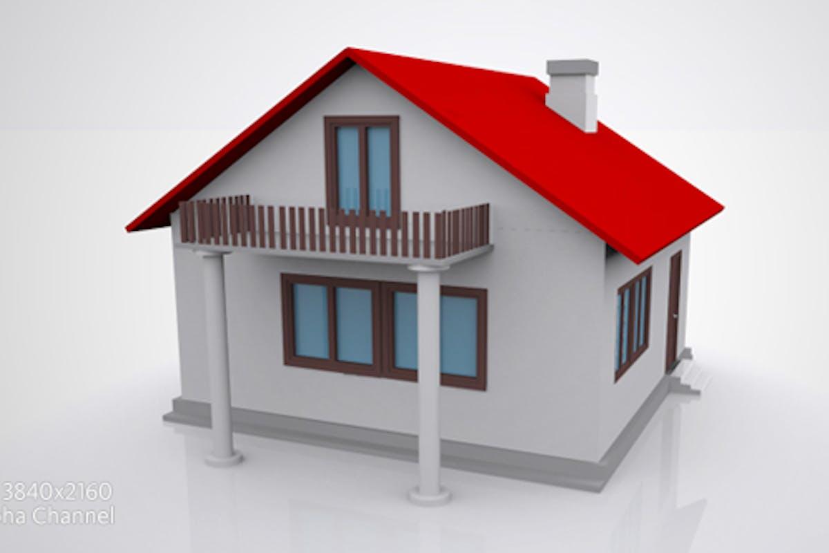 Casa De Construccion 3d Puerta Abierta V2 Por Karakos En Envato Elements