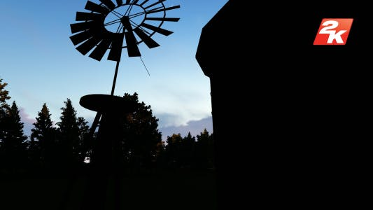 Thumbnail for Windmill silhouette