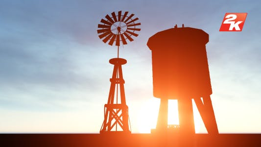 Thumbnail for Sunset Windmill