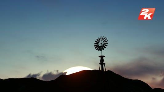 Thumbnail for Windmill on Mountain