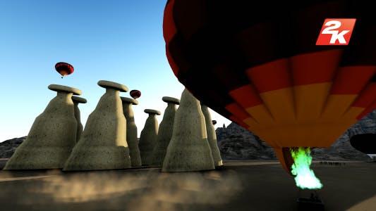 Cappadocia Balloon Morning