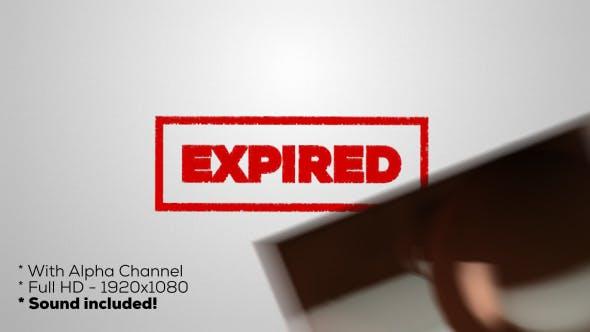 Thumbnail for Expired - Stamp