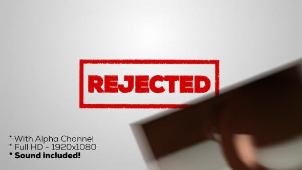 Thumbnail for Rejected - Stamp
