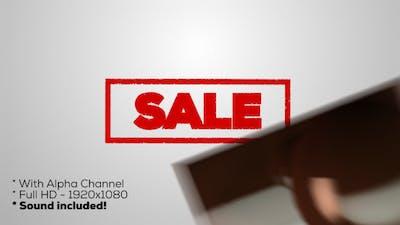 Sale - Stamp