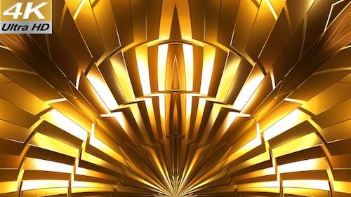 Gold 3D Background 4k