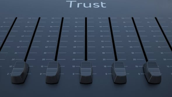 Thumbnail for Sliding Fader with Trust Inscription