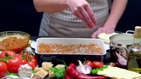 Cover Image for Preparation of Homemade Lasagna