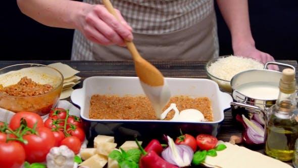 Thumbnail for Preparation of Homemade Lasagna