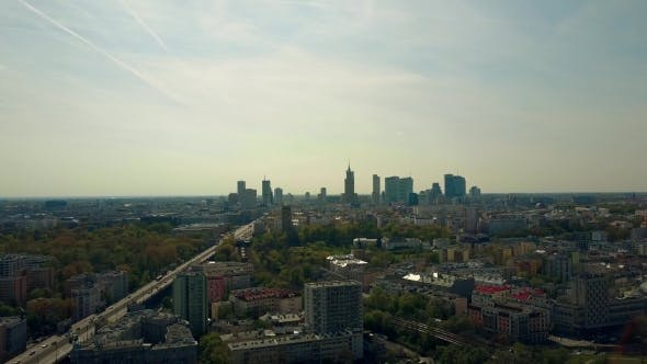 Thumbnail for Warsaw Downtown Skyline Poland
