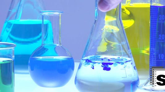 Thumbnail for Laboratory Chemistry Flasks Test