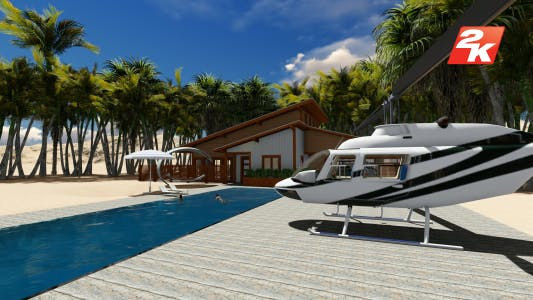 Thumbnail for Luxury Villa and Helicopter