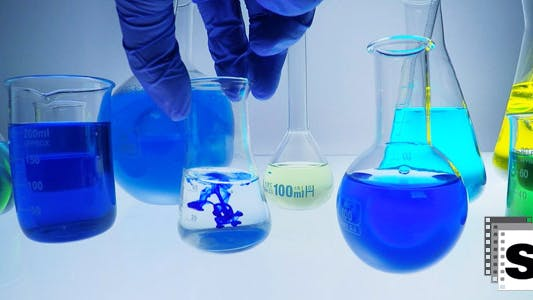 Thumbnail for Mixing Chemical Liquids  In Lab