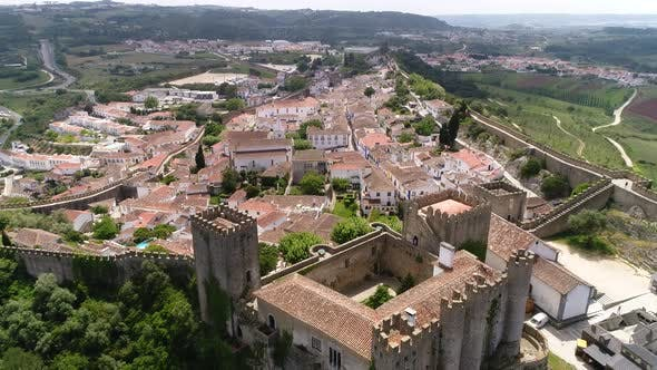 Thumbnail for Medieval Castle and City Of Óbidos, Portugal