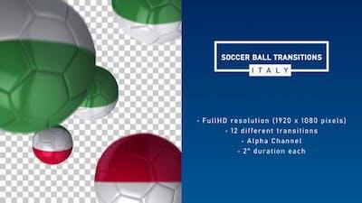 Soccer Ball Transitions - Italy