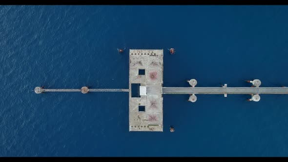 Drone Rises on the Ocean