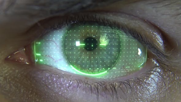 Thumbnail for Eye with Green Hologram