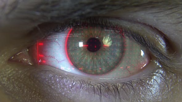 Thumbnail for Eye with Red Hologram