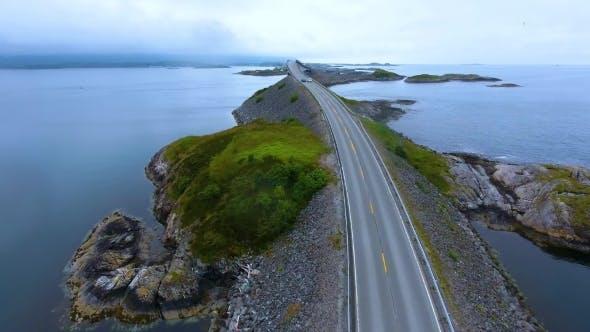 Thumbnail for Atlantic Ocean Road Aerial Photography.